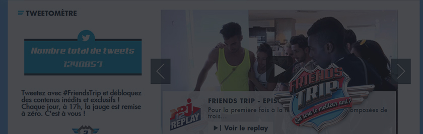 Friends Trip // NRJ12